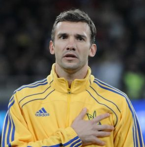 Andriy Shevchenko Plays with Heart