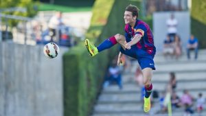 David Babunski, Red Star, La Masia Academy, Barcelona