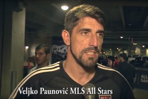 Veljko Paunović: MLS All Star